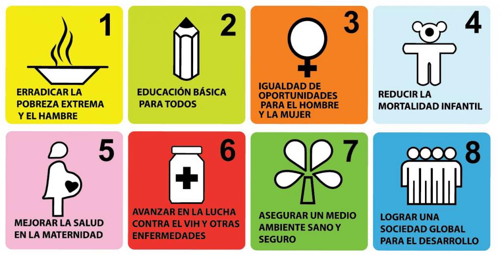 ODM. Objetivos de Desarrollo del Milenio