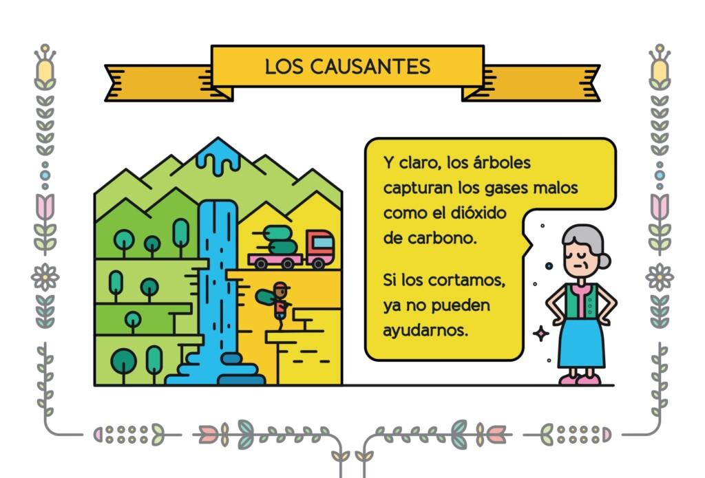 Material pedagógico cambio climático